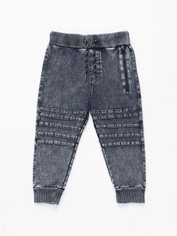 מכנסי טרנינג עם פסים בולטים / 3M-3Y של FOX
