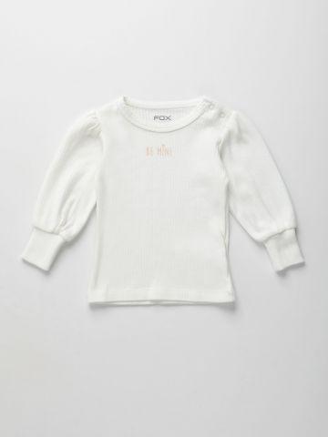 חולצת ריב עם הדפס / 3M-3Y של FOX