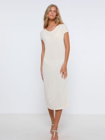 שמלת מידי סרוגה של TERMINAL X