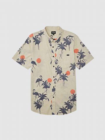 חולצה מכופתרת בהדפס טרופי / גברים של BILLABONG