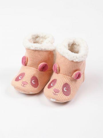 נעלי בית בדוגמת דובי / 0-3Y של FOX