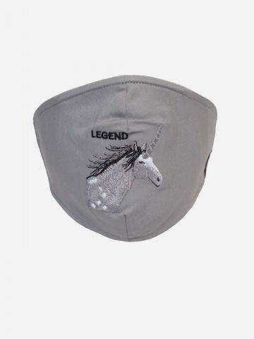 מסכת פנים עם רקמת סוס של GOORIN BROS