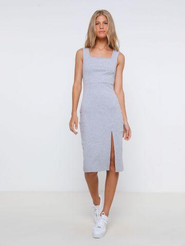 שמלת מידי עם שסע של TERMINAL X