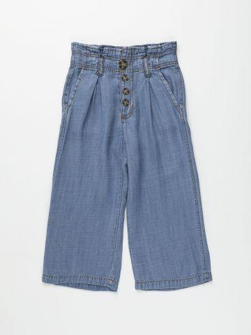ג'ינס קרופ עם כפתורים / בנות של AMERICAN EAGLE
