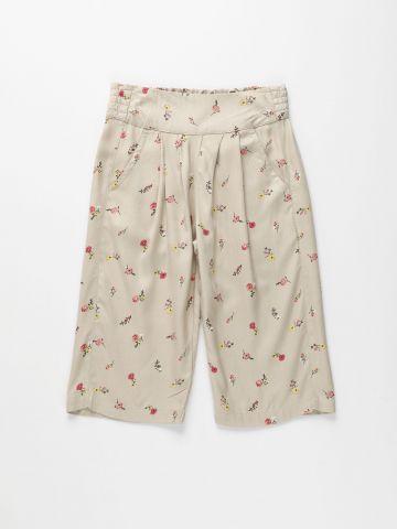 מכנסי קרופ בהדפס פרחים / בנות של AMERICAN EAGLE