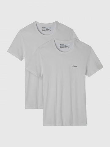 מארז 2 חולצות טי שירט עם לוגו / גברים של COLUMBIA