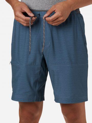 מכנסי טיולים קצרים מלאנז' של COLUMBIA