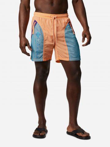 מכנסיים קצרים עם לוגו בסגנון קולור בלוק של COLUMBIA