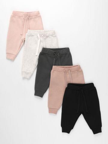 מארז 5 מכנסי פוטר ארוכים / 0-6Y של TERMINAL X KIDS