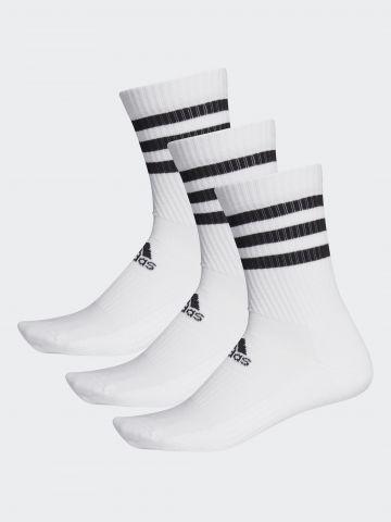מארז 3 זוגות גרביים גבוהים / נשים של ADIDAS Performance