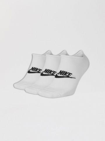 מארז 3 זוגות גרביים עם לוגו של NIKE
