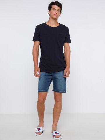 ג'ינס ברמודה עם כיסים של FOX