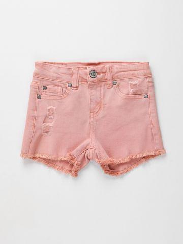 ג'ינס קצר עם פרנזים / בנות של AMERICAN EAGLE