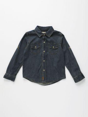 חולצת ג'ינס מכופתרת / בנים של AMERICAN EAGLE