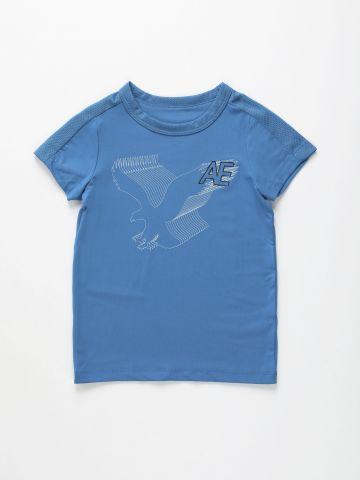 חולצת אקטיב עם לוגו / בנים של AMERICAN EAGLE