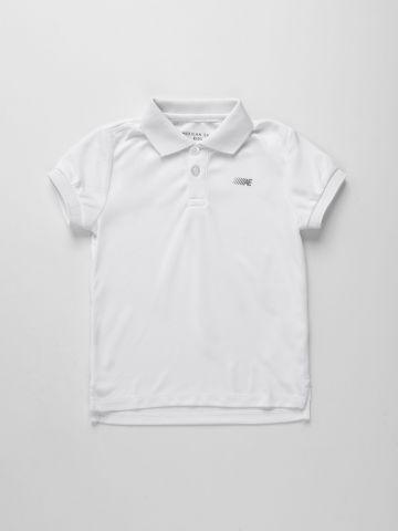 חולצת פולו אקטיב עם לוגו / בנים של AMERICAN EAGLE