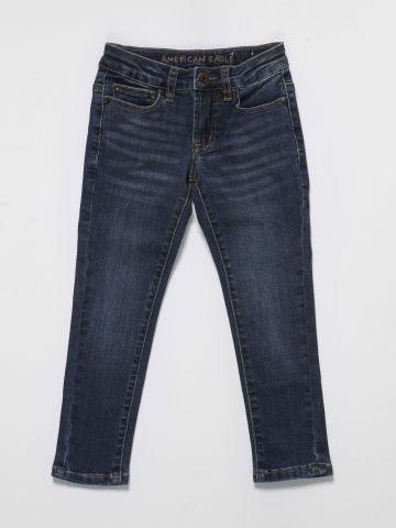 ג'ינס סקיני בשטיפה כהה / בנים של AMERICAN EAGLE