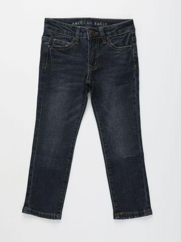 ג'ינס סלים בשטיפה כהה / בנים של AMERICAN EAGLE