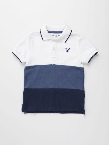 חולצת פולו קולור בלוק / בנים של AMERICAN EAGLE
