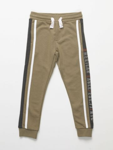 מכנסי טרנינג עם סטריפים / בנים של AMERICAN EAGLE