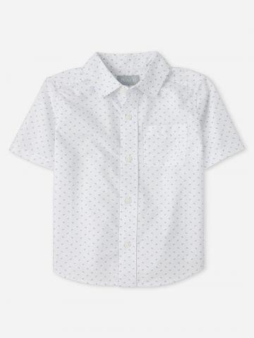 חולצה מכופתרת בהדפס / בנים של THE CHILDREN'S PLACE