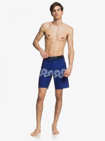 מכנסי בגד ים עם הדפס אבסטרקטי של QUIKSILVER
