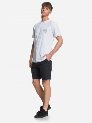 מכנסי ברמודה עם רקמת לוגו של QUIKSILVER