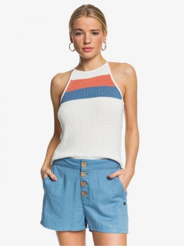 מכנסי דמוי ג'ינס קצרים של ROXY