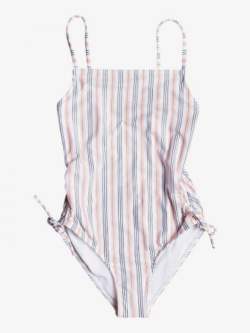בגד ים שלם בהדפס פסים / בנות של ROXY