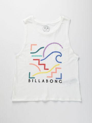 גופייה עם הדפס לוגו / בנים של BILLABONG