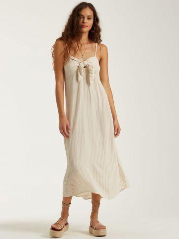 שמלת מידי בהדפס פסים עם קשירה של BILLABONG