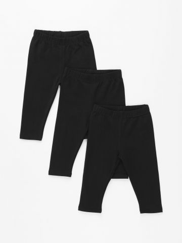 מארז 3 זוגות מכנסי טייץ ארוכים / 3M-14Y של TERMINAL X KIDS
