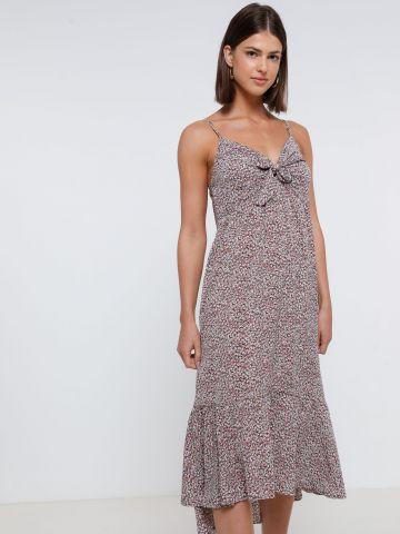 שמלת מידי בהדפס פרחים של YANGA