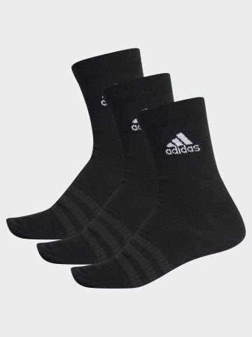 מארז 3 זוגות גרביים גבוהים / גברים של ADIDAS Performance