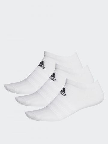 מארז 3 זוגות גרביים נמוכים עם לוגו/ נשים של ADIDAS Performance