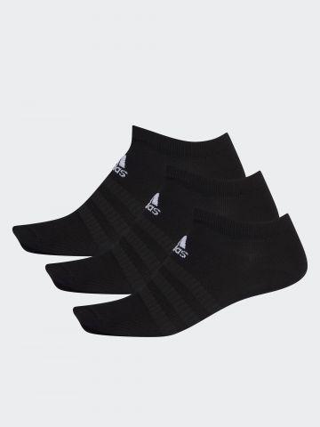 מארז 3 גרביים נמוכים עם לוגו / גברים של ADIDAS Performance