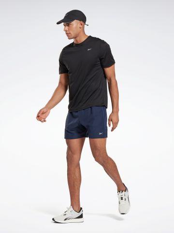 מכנסי ריצה קצרים עם בטנה של REEBOK