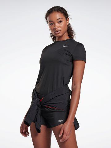 חולצת ריצה עם לוגו של REEBOK