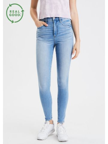 ג'ינס סקיני Super Hi Rise של AMERICAN EAGLE