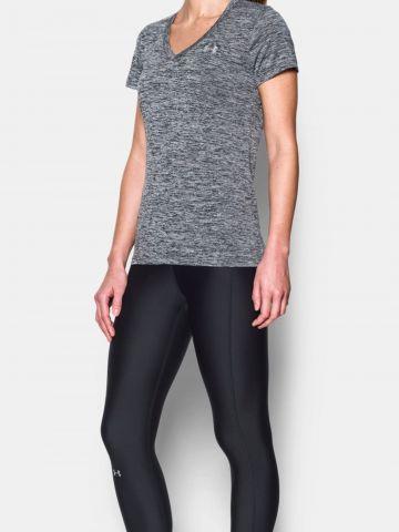 חולצת אימון עם לוגו של UNDER ARMOUR