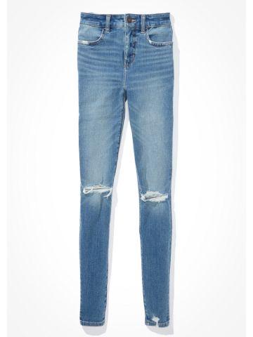 ג'ינס עם קרעים Hi Rise Jegging / נשים של AMERICAN EAGLE