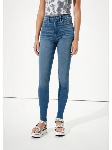 ג'ינס סקיני סטרץ' Super High Rise Jegging של AMERICAN EAGLE