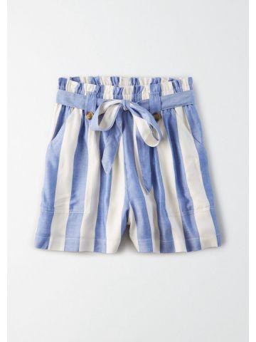 מכנסי פייפרבאג בהדפס פסים / נשים של AMERICAN EAGLE