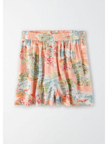 מכנסיים קצרים בהדפס טרופי / נשים של AMERICAN EAGLE