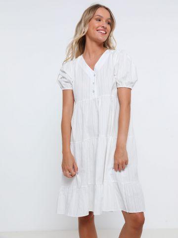 שמלת מיני קומות פסים של YANGA