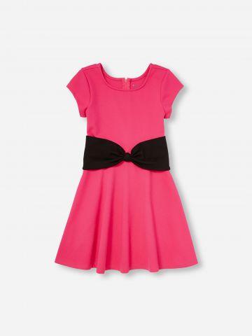 שמלת טי שירט עם פפיון / בנות של THE CHILDREN'S PLACE