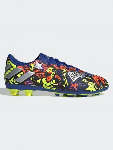 נעלי כדורגל פקקים NEMEZIZ MESSI 19.3 TF J / בנים של ADIDAS Performance