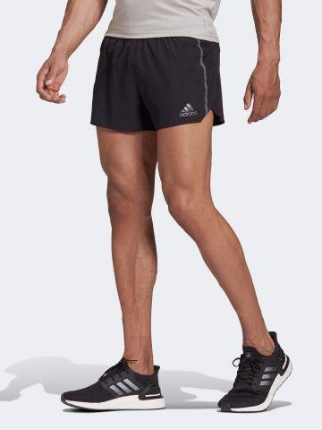 מכנסי ריצה קצרים עם לוגו של ADIDAS Performance
