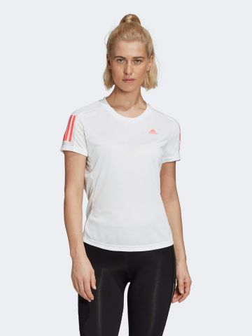 טי שירט ריצה עם לוגו של ADIDAS Performance