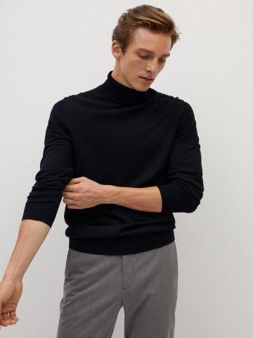 סוודר צמר גולף של MANGO